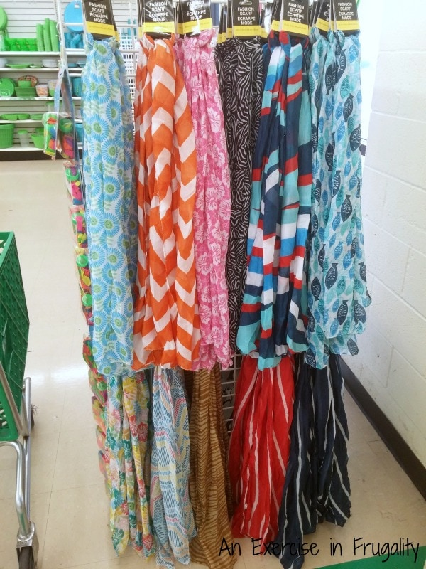 Dollar Tree Scarves
