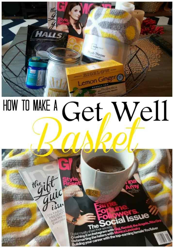 Bigelow get well basket care package
