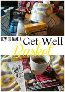 Get Well Basket Ideas