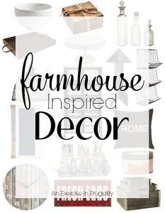 Farmhouse Decor on a Budget