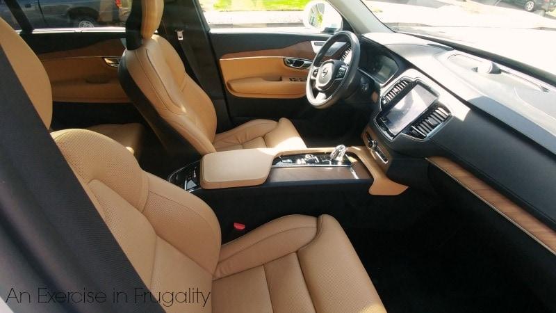 Volvo XC90 Roomy Interior