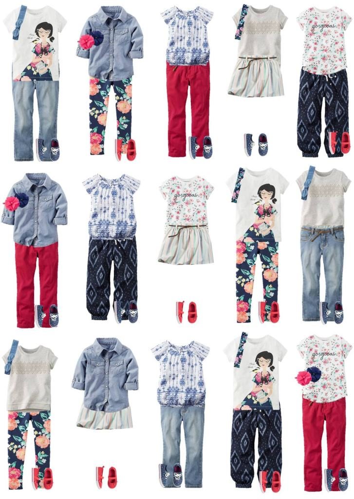 Back to School time is almost here! These outfits from Carter's are SO adorable and very affordable (oh, and there's a coupon code now too!). Get your kids decked out for back to school and let them show off their own cool style!