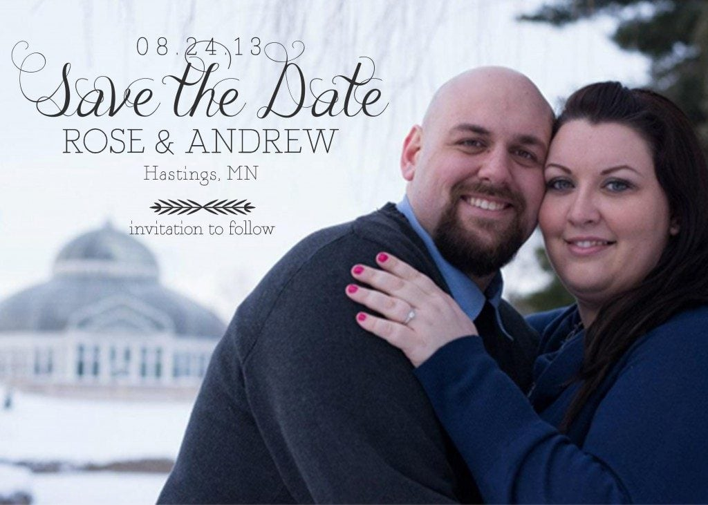You can make your save the dates for free! It's actually very simple to do.