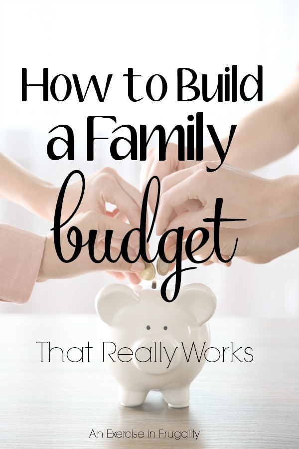 How to Build a Family Budget That Works- A budget is not hard to create when you have simple steps to follow, but the key part is that EVERYONE in the family has to work together to make it happen! This post gives you step by step tricks to create a budget for your family.