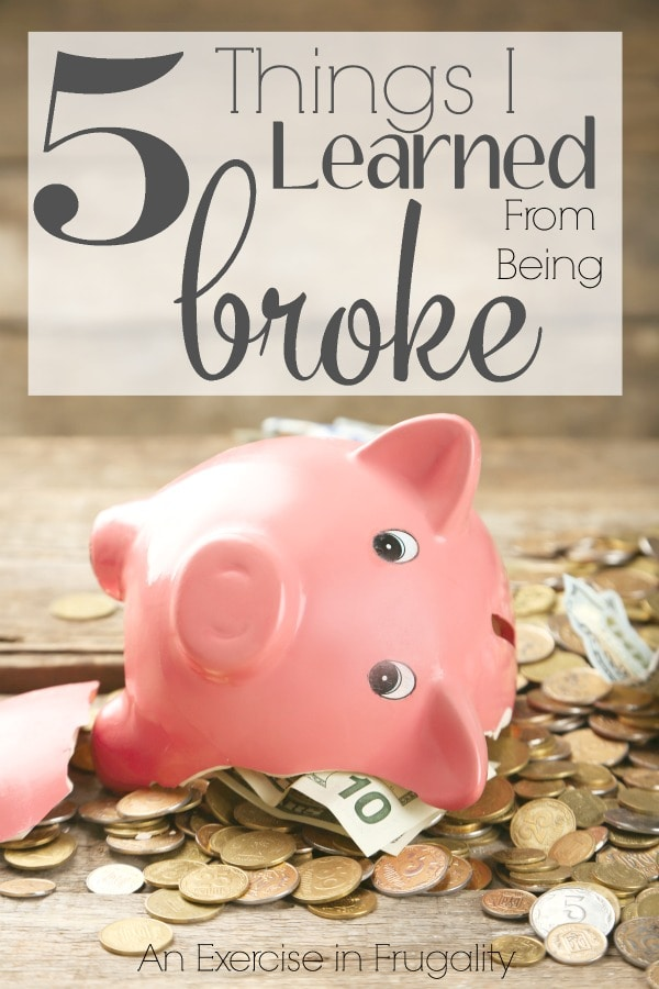 5 Things I Learned From Being Broke-Pulling away from the victim mentality can give you some clarity. Sure being broke might not be your fault, but that doesn't mean you have to stay there. I learned some hard truths about money and myself when I was broke. Don't repeat my mistakes!