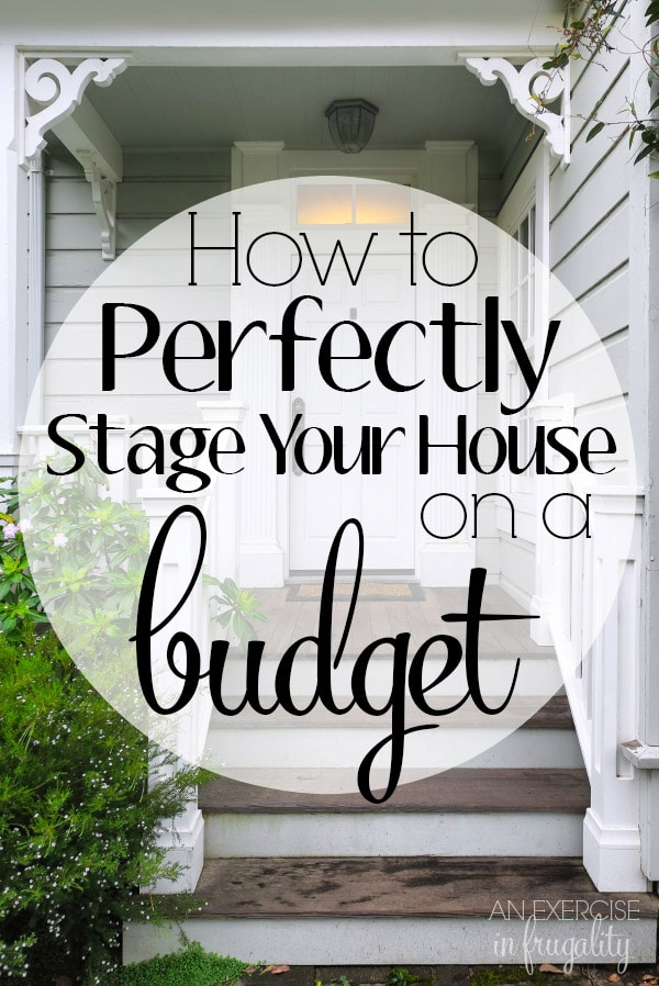 How to Stage Your House on a Budget. Yes it's possible! I staged our house for less than $70 using mostly stuff we already had and we sold it on DAY THREE of being listed with multiple full-price offers! It's not as scary as you think to DIY your home staging.