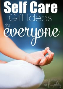 Self Care Gift Ideas for Everyone- anyone into self care, meditation, yoga or other types of relaxing self care. Great ideas for self care themed gifts for Christmas or the holidays!