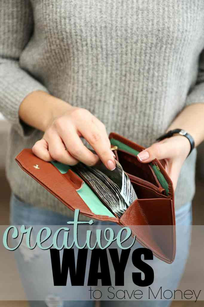 Creative Ways to Save Money in the New Year- these tips will help you get out of debt, or add to your savings by using these creative ideas for saving money.