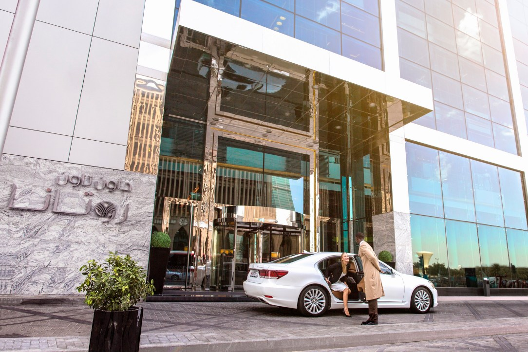arrival-Downtown Rotana