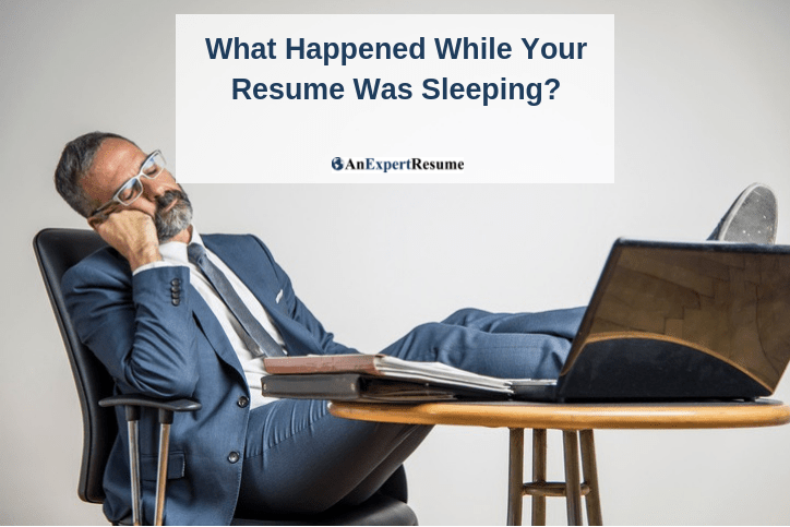 While Your Resume Was Sleeping