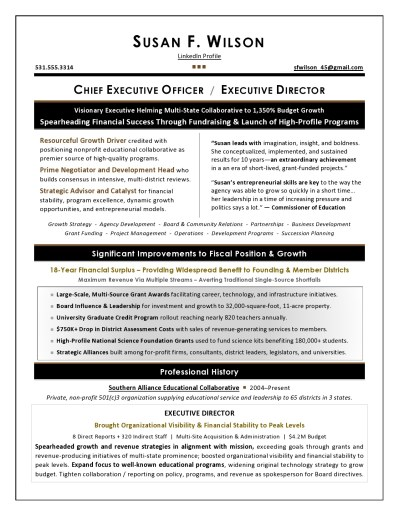 Nonprofit_Executive_Resume_Sample
