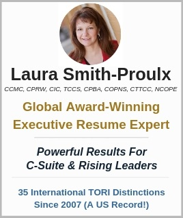 executive resume writing expert Laura Smith-Proulx