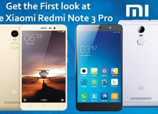 Get the First look at the Xiaomi Redmi Note 3 Pro