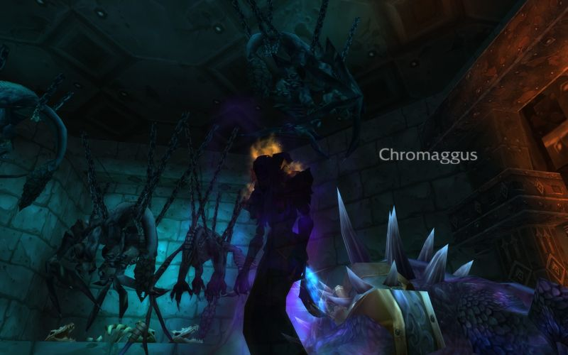 shadow priest in Blackwing Lair gloating over the demise of Chromaggus