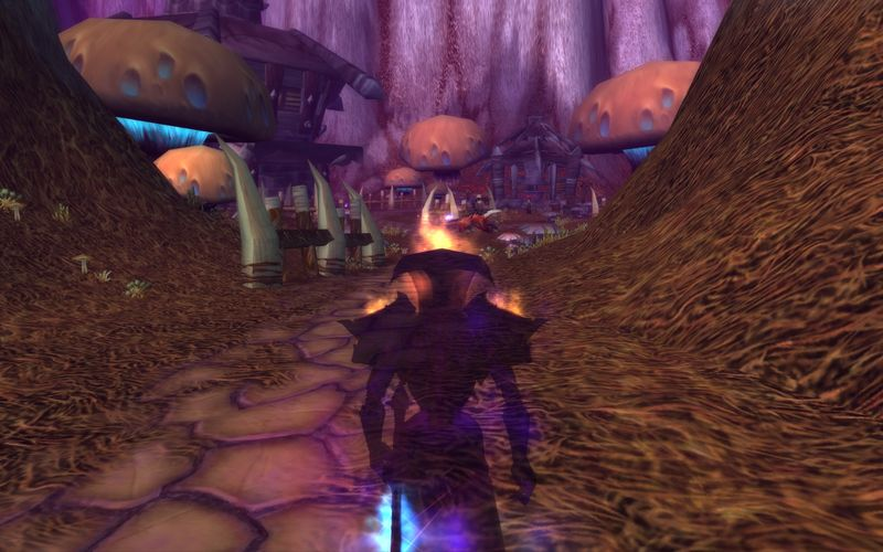 shadow priest exploring old Desolace