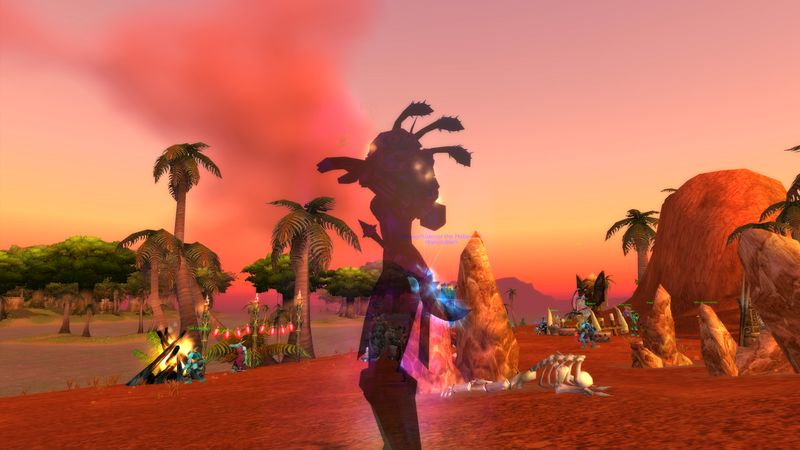 Troll Shadow Priest taking back Echo Isles