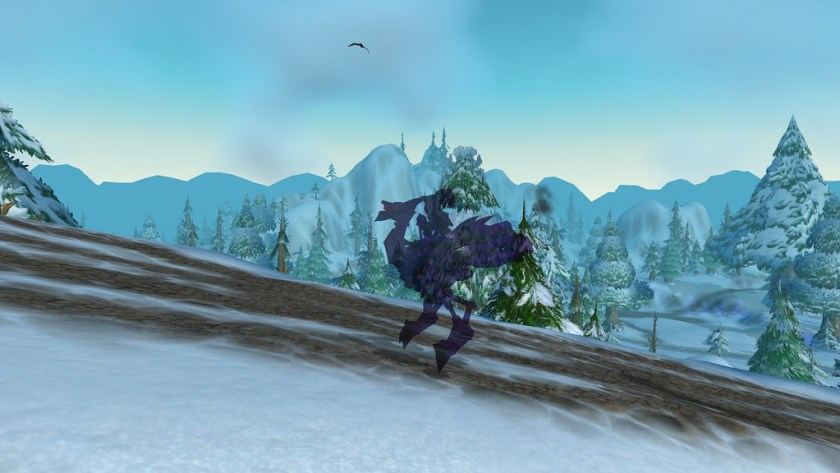 gnome shadow priest snakedriver on her mechanostrider in shadowform
