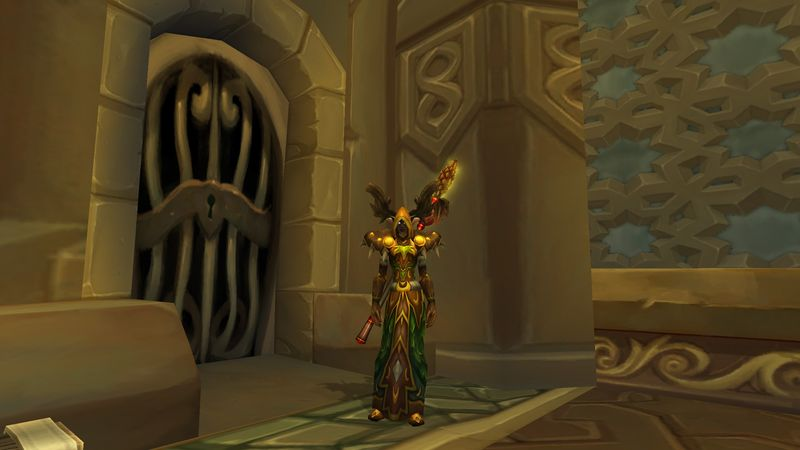 Psychocandy in the Druid T2 set (a.k.a. one of several old skool gear sets taking up most of her bag space.)