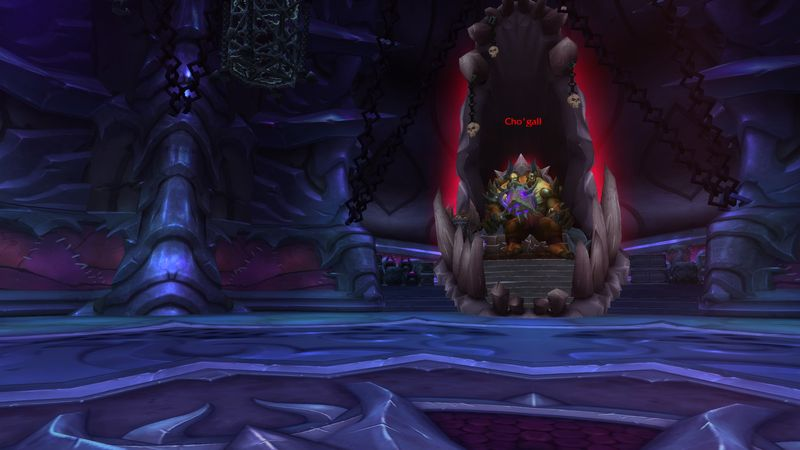Cho'gall will have your heads!...all of you!