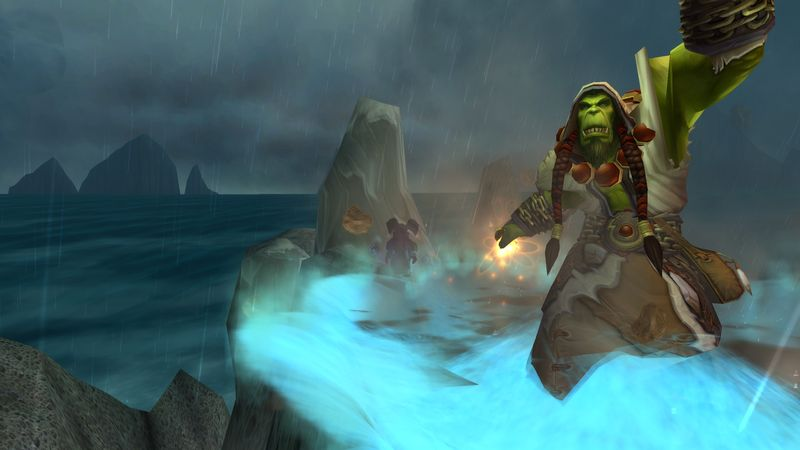 Sorry, Thrall honey, but I'm taken.