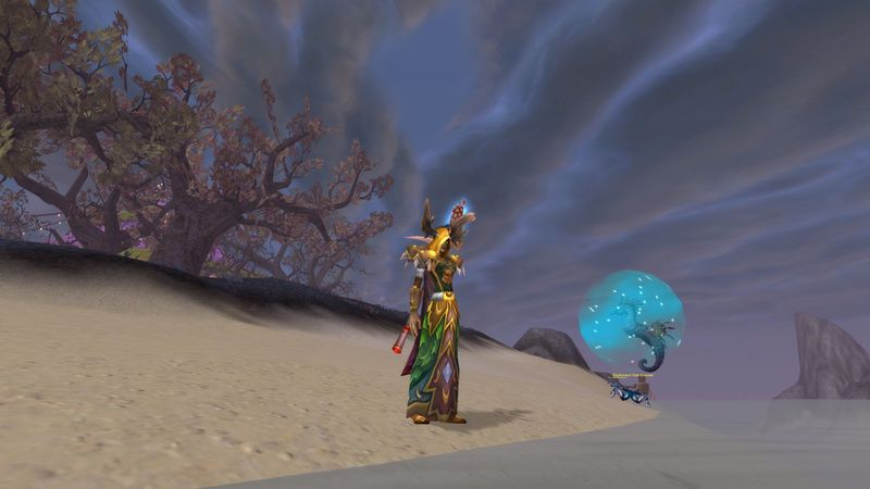 Psychocandy in druid T2 with her My Little Seapony