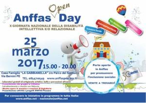 locandina Anffas Open Day 2017