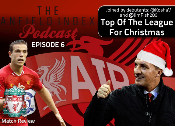 Episode 6 - Top Of The League for Christmas