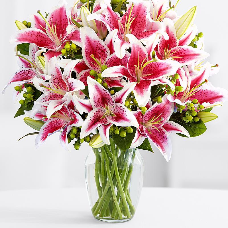 Открытка, лилии букеты картинки красивые