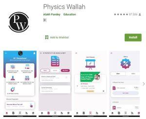 Image Physics Wallah App Screenshot