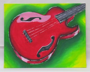 Student Complementary Color Painting