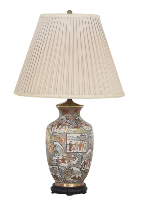 Chinoiserie Underwriters Laboratories Lamp