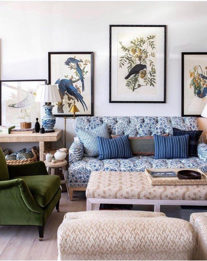 Amy Berry Grandmillenial Living Room