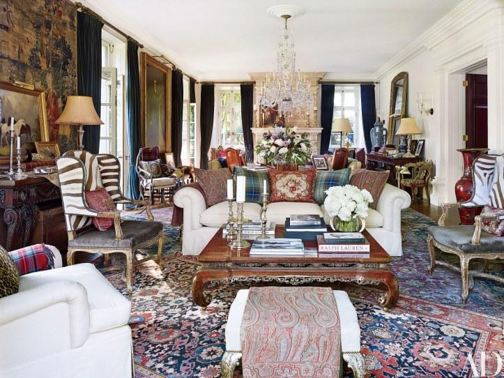 Ralph Lauren living room traditional design