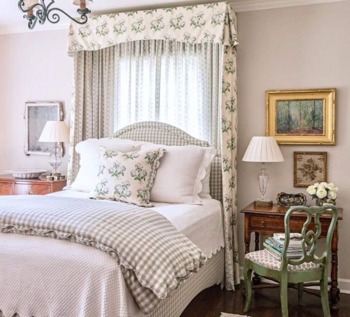 Anna-Louise Wolfe bedroom with Bowood