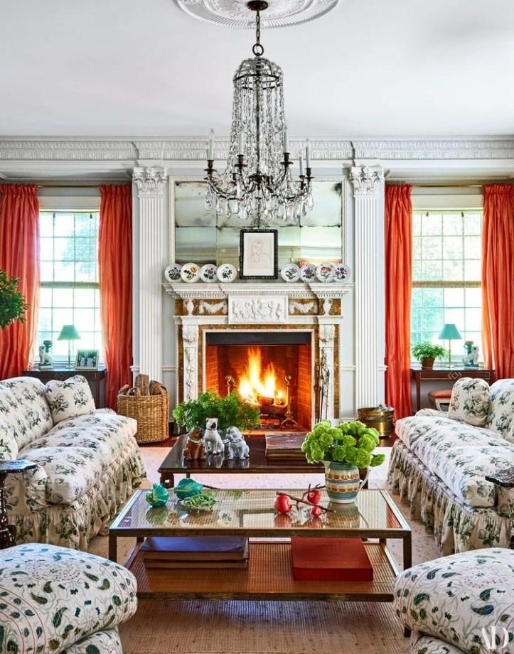 Tory Burch living room