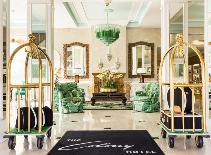 The Colony Hotel in Palm Beach regency style