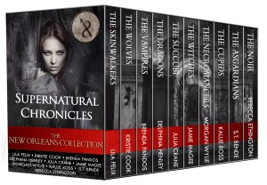 urban fantasy paranormal romance Supernatural Chronicles