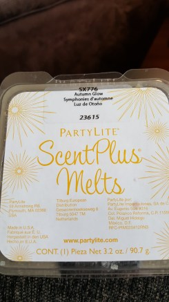 Partylite ScentPlus Melts in Autumn Glow