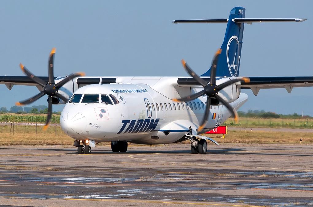 Am zburat cu un ATR 42-500 al celor de la Tarom