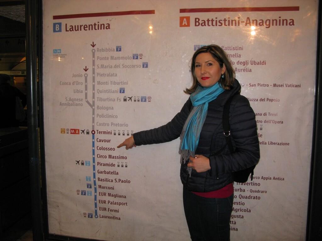 Roma - metro Transfer aeoport - Roma