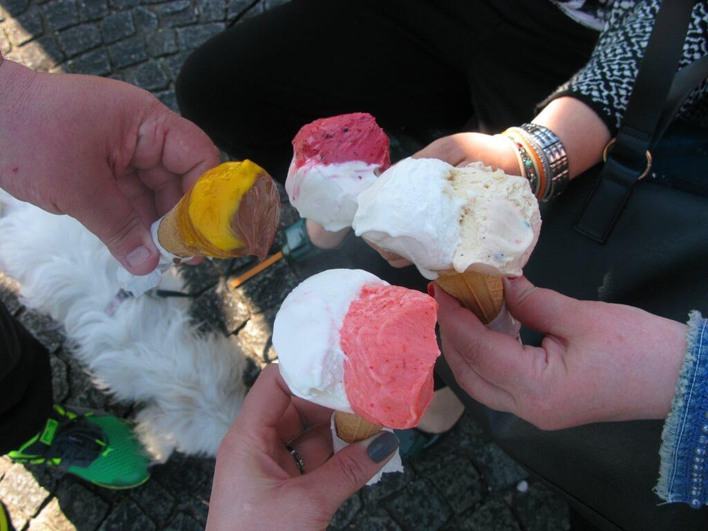 Mâncarea italiană - înghețată