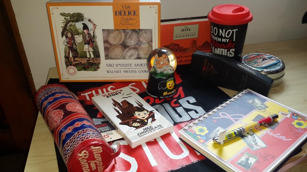 art & craft - dulciuri - bagajul pentru Cuba
