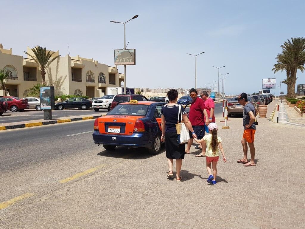 țepe turistice în Egipt