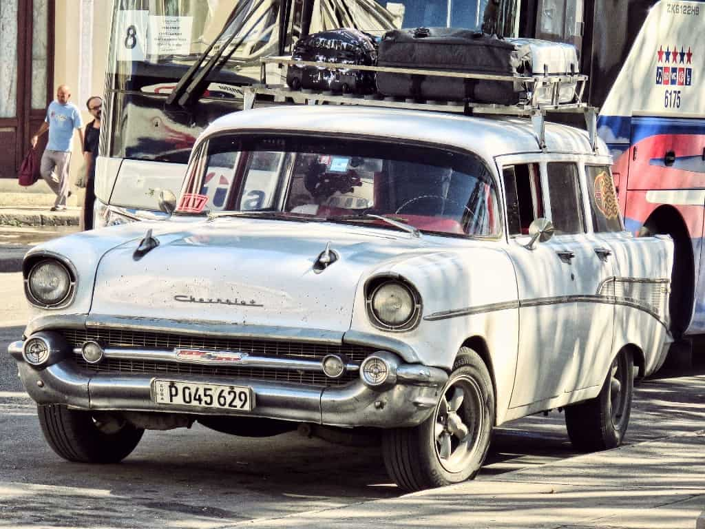bagajul pentru Cuba