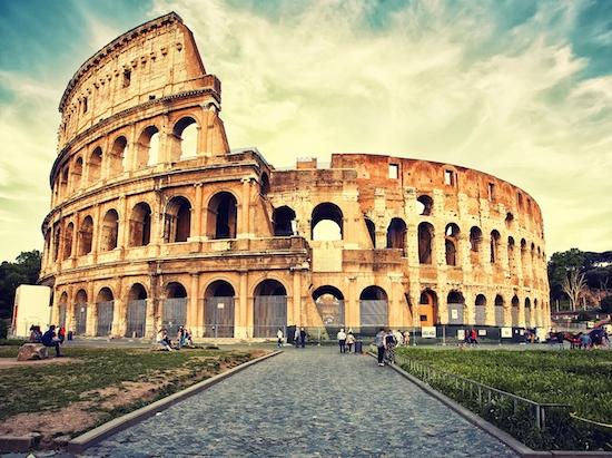 Colosseum -city break în Roma