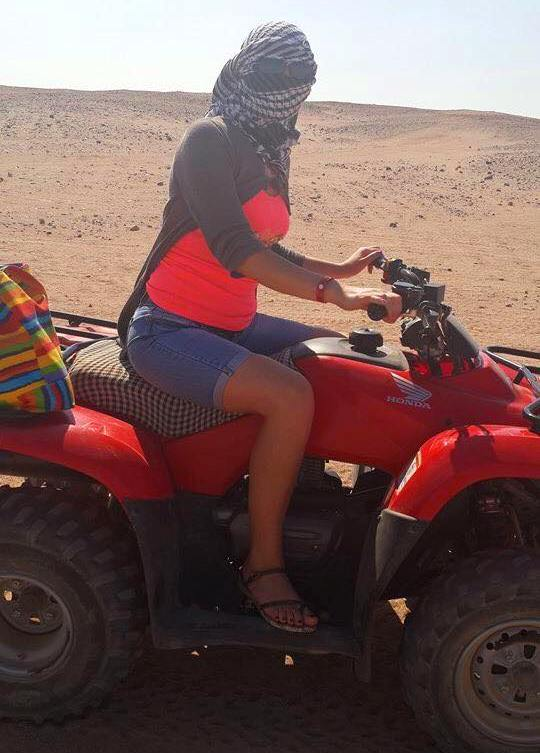 Cu ATV-ul prin deșert7