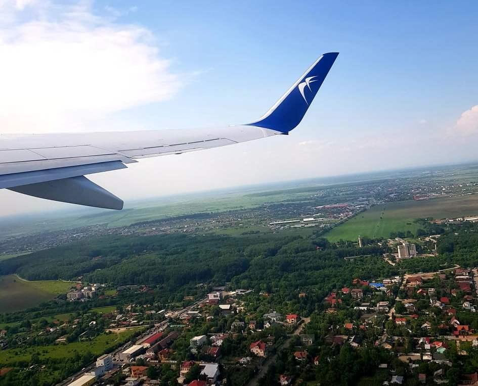 Zbor București - Barcelona cu Blue Air