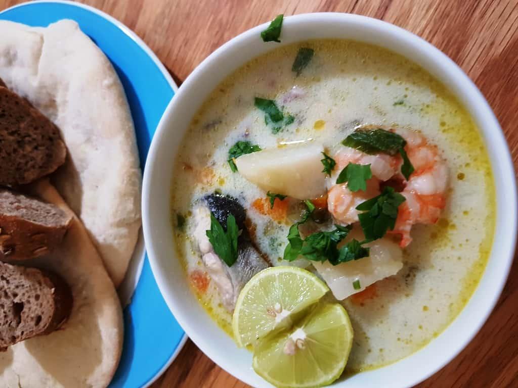 O lună în Egipt pe cont propriu- sea food soup