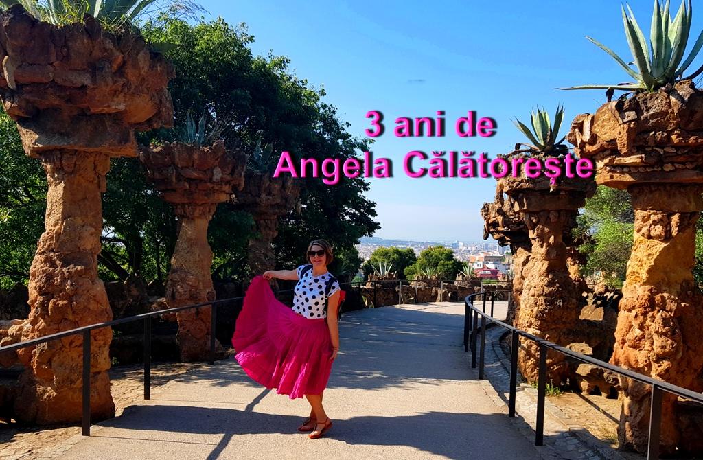 3 ani de Angela Călătorește