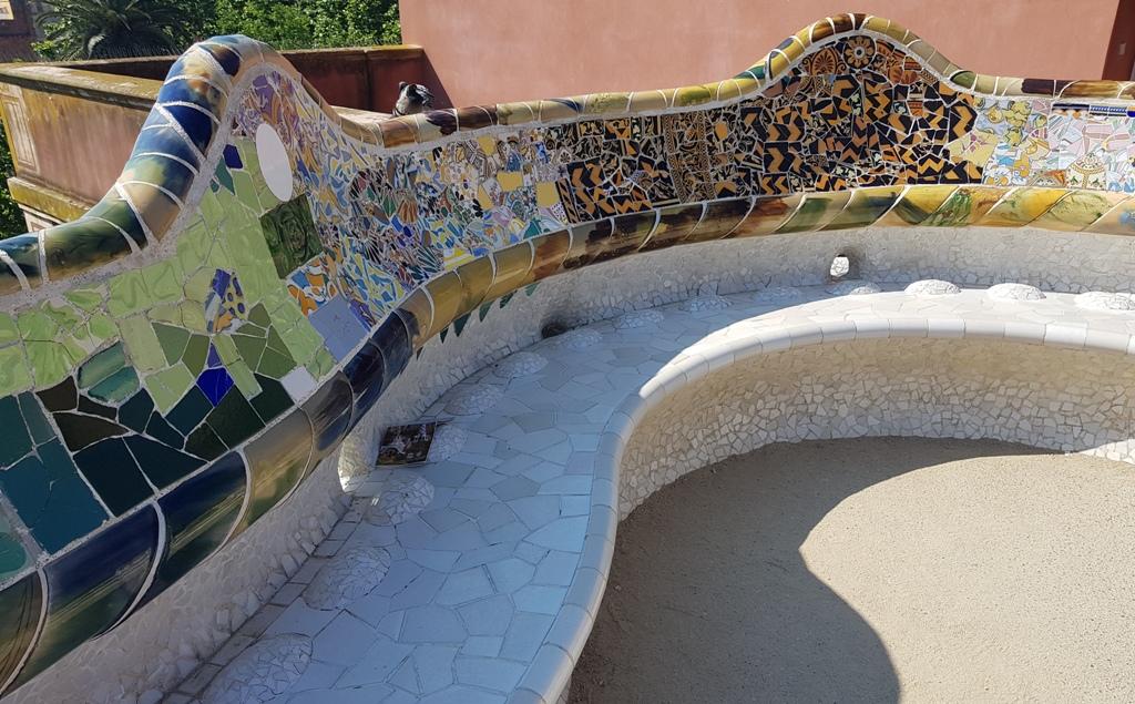 Parcul Guell - Teatrul Grec